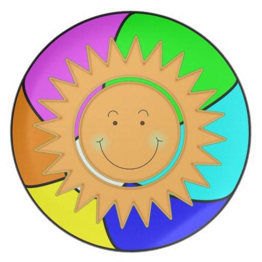 Verano Sun Plato Para Fiesta