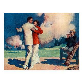 Verano SUPERIOR del tango Tarjeta Postal