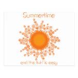 verano tarjetas postales