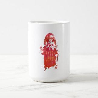 verano taza básica blanca