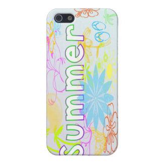Verano tropical iPhone 5 funda