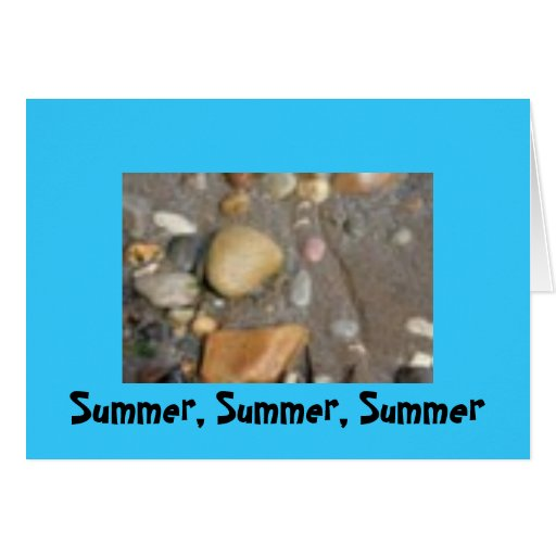 Verano, verano, verano felicitacion