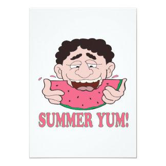 """Verano Yum Invitación 5"""" X 7"""""""