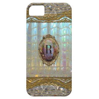 Veraspeece Baroque Monogram iPhone SE/5/5s Case