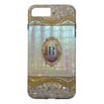 Veraspeece Sweet Baroque  Monogram Plus Iphone 7 Plus Case at Zazzle