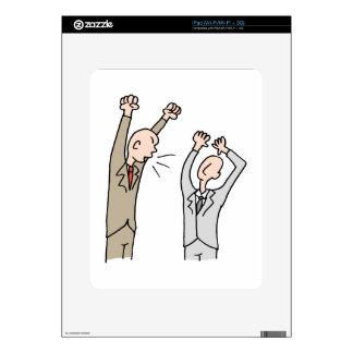Verbally abusive coworker iPad skins