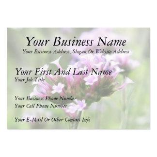 Verbena Bonariensis Business Card Templates