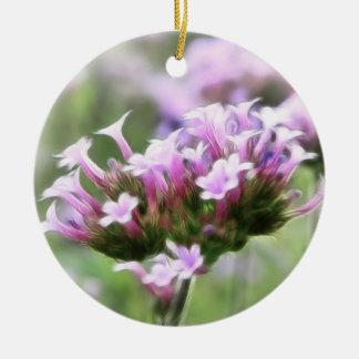Verbena Bonariensis Ceramic Ornament