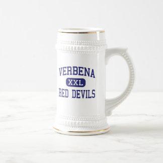 Verbena - Red Devils - High - Verbena Alabama Coffee Mug