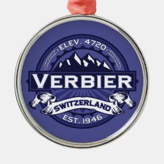 Verbier Logo Midnight Christmas Tree Ornament