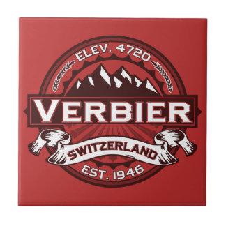 Verbier Logo Ceramic Tile