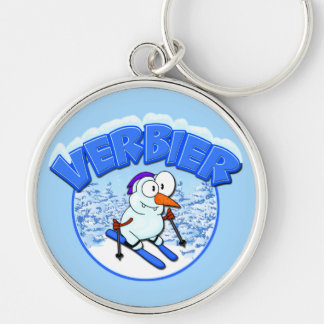 Verbier Snowman Keychains