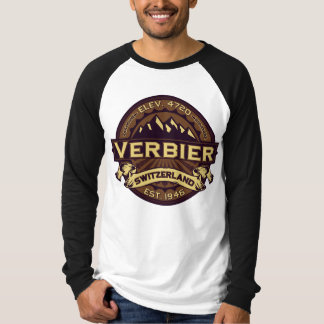 Verbier Switzerland Sepia T-Shirt