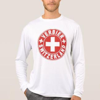 Verbier White Cross T-Shirt