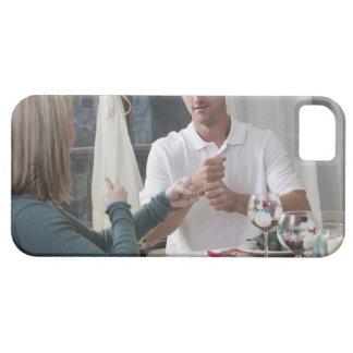 """Verbinden Sie das Unterzeichnen der Phrase """"neues  iPhone SE/5/5s Case"""
