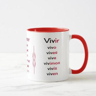 Verbos españoles que aprenden la enseñanza