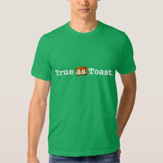 VERDAD como camiseta de la TOSTADA Polera