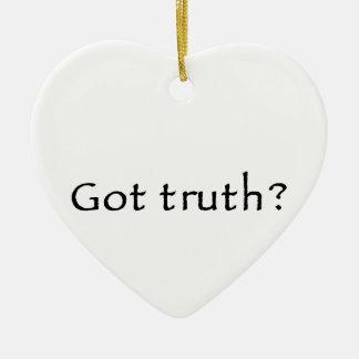 ¿Verdad conseguida? Adorno Navideño De Cerámica En Forma De Corazón