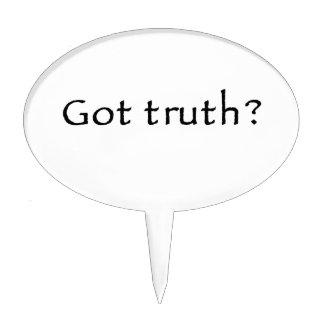 ¿Verdad conseguida? Figura De Tarta