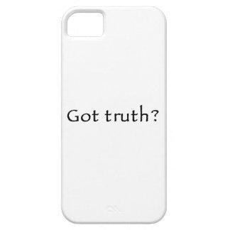 ¿Verdad conseguida? iPhone 5 Case-Mate Carcasas