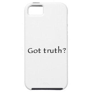 ¿Verdad conseguida? iPhone 5 Case-Mate Cárcasa