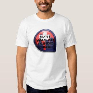 Verdad de Canadá 911 dentro del trabajo Camisas