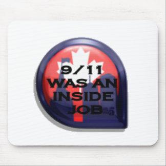 Verdad de Canadá 911 dentro del trabajo Tapete De Ratón