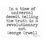 Verdad de Orwell Postal