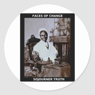 Verdad del Sojourner Pegatina Redonda
