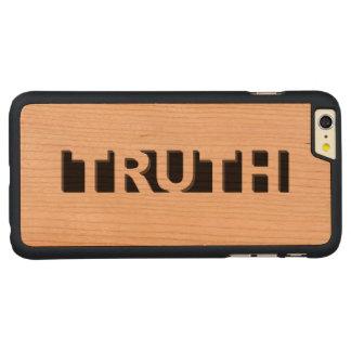 VERDAD FUNDA DE CEREZO CARVED® PARA iPhone 6 PLUS SLIM