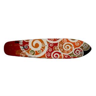 Verdad la vuelta - cubierta del monopatín patin personalizado