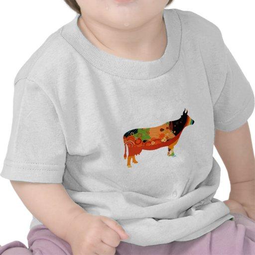 Verdad vacas coloreadas sustanciosas de Amoozing Camiseta