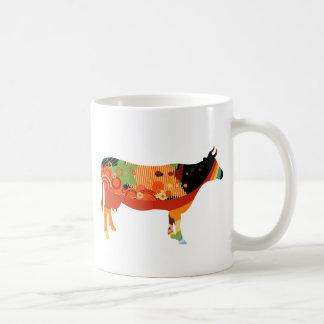 Verdad vacas coloreadas sustanciosas de Amoozing Taza De Café