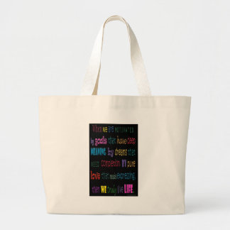 Verdad vida del amor bolsas