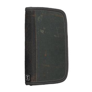 Verdad vintage: vieja, de cuero cubierta de libro  planificadores