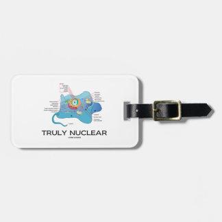 Verdaderamente nuclear (eucariota animal de la etiquetas bolsas