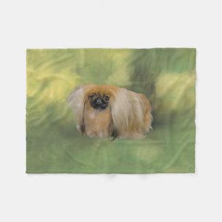Verdant Beauty Fleece Blanket
