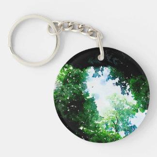Verdant Foliage Keychain