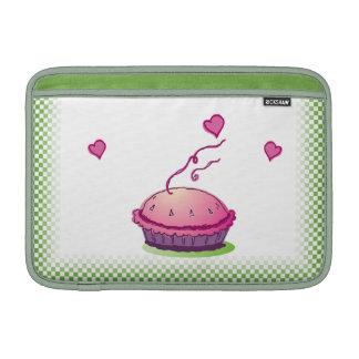 """Verde 11"""" de la empanada del Sweetie horizontal Funda Macbook Air"""