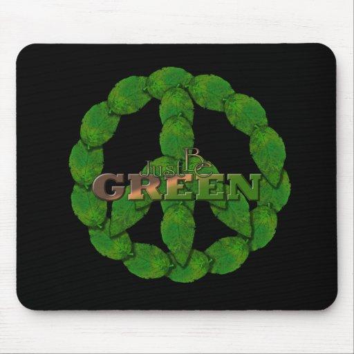 Verde 11 tapete de ratón