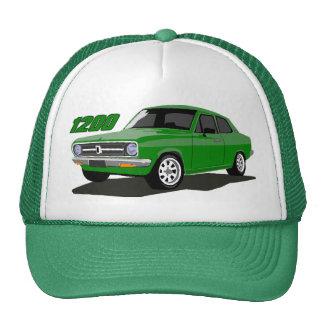 Verde 1200 del sedán de DATSUN Gorras