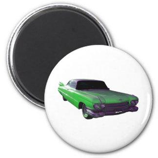Verde 1959 de Cadillac Imán Para Frigorifico