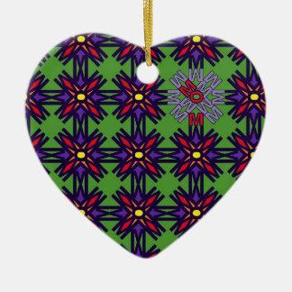 Verde 1 del mosaico de la MAMÁ Ornamentos Para Reyes Magos