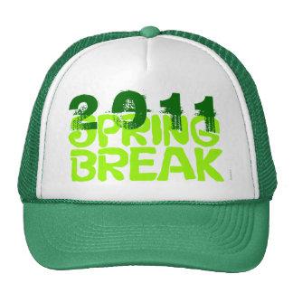 Verde 2011 del gorra 5 de las vacaciones de primav