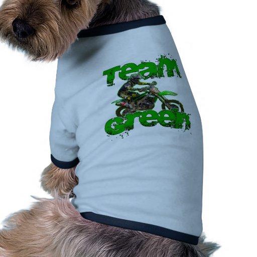 Verde 2013 del equipo ropa macota