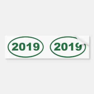 verde 2019 pegatina para auto