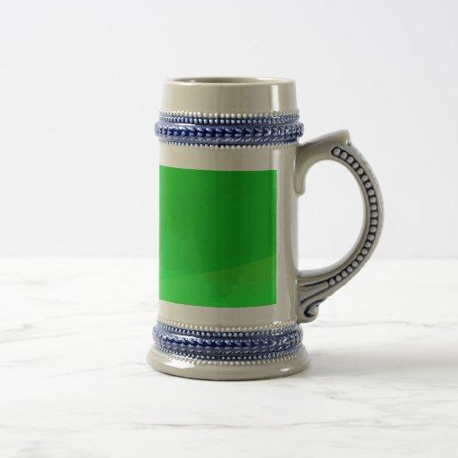 Verde 2 jarra de cerveza