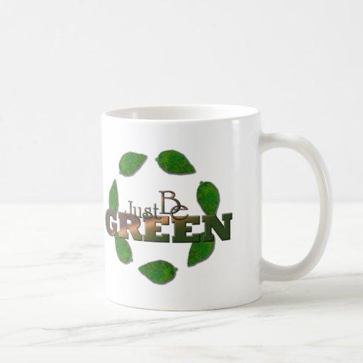 Verde 2 tazas