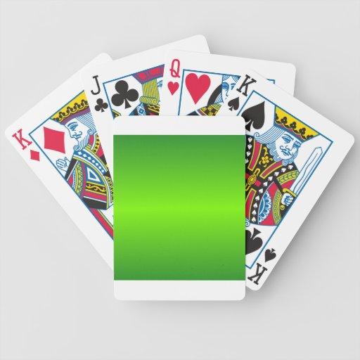 Verde 4 - Verde del césped y pendiente de Forest G Baraja De Cartas