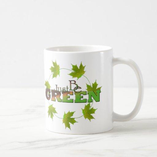 Verde 6 tazas de café